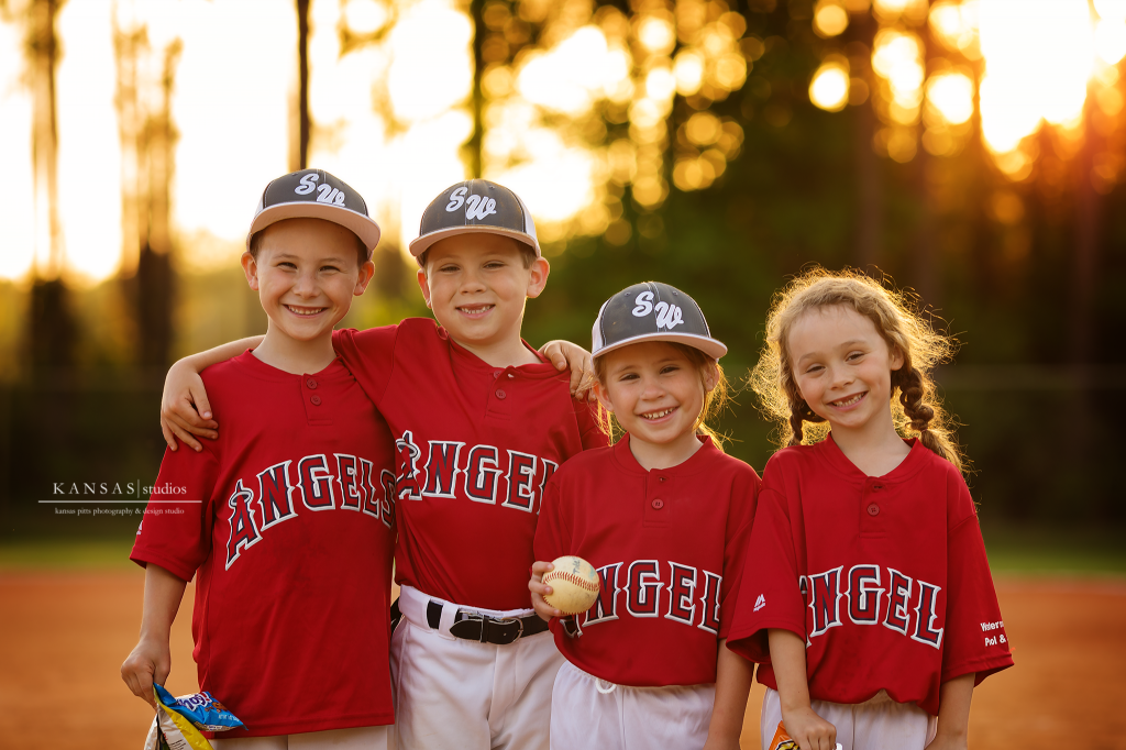 Kids Baseball Photography by Kansas Pitts